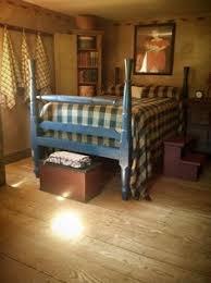 primitive bedrooms my kind of bedroom cinnamon creek cabin love the bed primitive