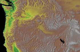 Us Map Topography Floods And Flows Exploring Mars Geology On Earth Topography Maps