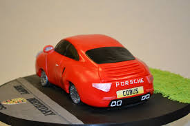 red porsche 911 3d red porsche 911 celebration cakes cakeology