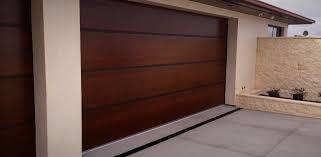 divine contemporary wood look garage doors for loversiq
