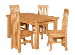 solid wood dining table and chairs rustic wood dining tables wood