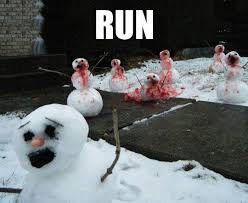Memes About Snow - snombies snow zombies