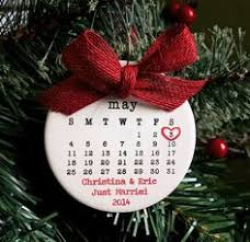 Personalized Wedding Christmas Ornaments Personalized Wedding Christmas Ornament Our First Christmas