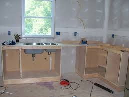 frameless kitchen cabinets making a kitchen cabinet new how to build frameless base cabinets