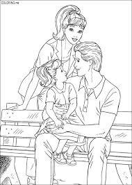 barbie ken coloring pages getcoloringpages