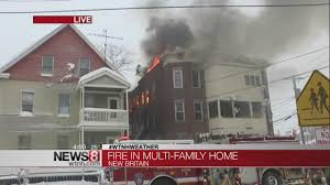 4 hospitalized in new britain multi family house fire youtube