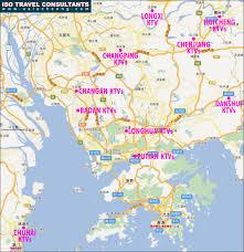 Iso Map Asia Cheong Dongguan Changping Huizhou Danshui Shenzhen