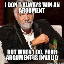 Meme Your Argument Is Invalid - your argument is invalid intercollegiate studies institute