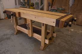 Plans For Making A Wooden Workbench by Woodworking The Samurai Workbench Youtube