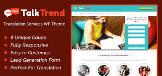 talktrend u0027 translation services wordpress theme inkthemes