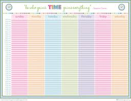 weekly calendar 2016 for word 12 free printable templates schedule