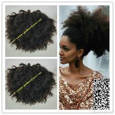 hair puff hot hair puff afro curly human hair ponytail