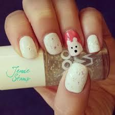 wonderful winter nail art designs