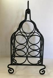 wrought iron wall wine rack metal wine racks wrought iron wine