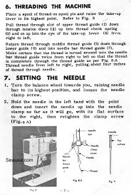 brother 1241 1243 sewing machine threading diagram sewing