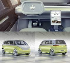 mpv van volkswagen i d buzz concept is the world u0027s first fully autonomous
