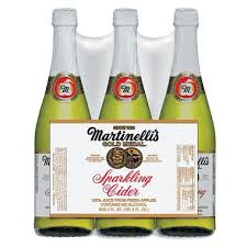 wholesale sparkling cider martinelli s sparkling apple cider 3 25 4 oz sam s club