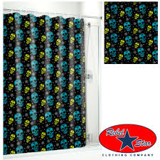 Zombie Pinup Shower Curtain by Shower Curtain Zombie Fa123456fa