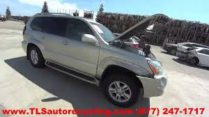 lexus gx470 tire pressure parting out 2003 lexus gx 470 stock 5106rd tls auto recycling