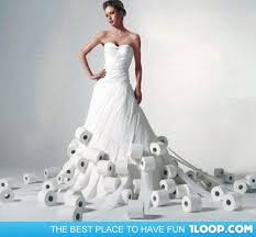 paper wedding dress wedding dress from toilet paper 32 for your plus size wedding