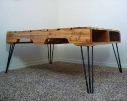 Hairpin Coffee Table Legs Diy One Coffee Table With 3 Rod Hairpin Legs Pallet Furniture Plans