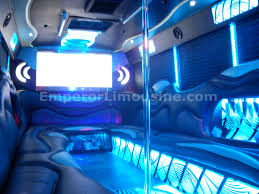 party bus outside the wave edition party bus limousine 30 passenger emperor