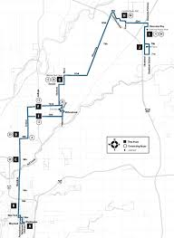 Map Route 19 Castleton Indygo