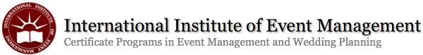 wedding planner certification online international institute of event management certificate programs
