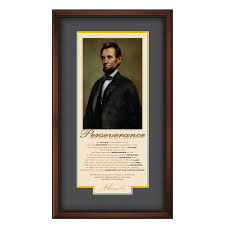 quotes about leadership lincoln great leaders lincoln perseverance motivational poster