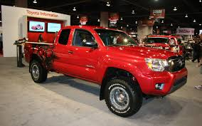 widebody toyota truck 2012 toyota tacoma sema 2011 motor trend