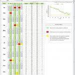 excel fitness workout calendar template monthly calendar