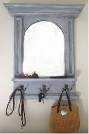 handmade entry mirror with shelf and hooks lovely i u0027d wish the