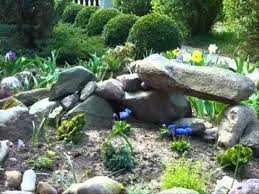 small space rock garden ideas youtube