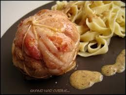 cuisiner les paupiettes de porc paupiettes de porc à la montagnarde à la moutarde carré de