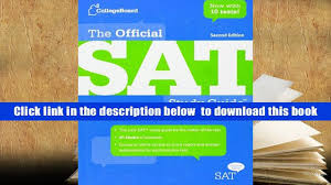 download the official sat study guide second edition the college