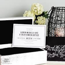 Wedding Invitations Long Island Heirloom Highlight Cruise Letterpress Wedding Invitations