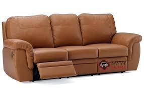 Leather Sofa Reclining Dual Recliner Sofa Wojcicki Me
