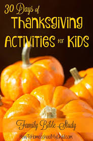family bible studies 30 days thanksgiving activities for