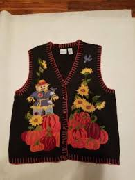 thanksgiving vest carolina colours mercari