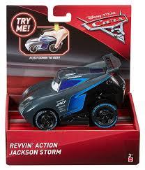 disney pixar cars 3 revvin u0027 action vehicle jackson storm toys