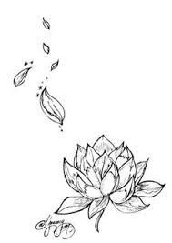flower with flying petals tattoo tattoos pinterest rose
