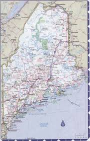 map of maine cities maine complete map