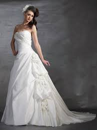 white dress for wedding lace up flower trimmed applique white wedding dresses 2013 on sale