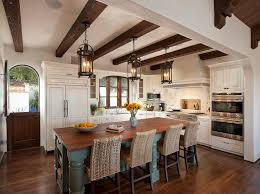 Wrought Iron Pendant Light Wrought Iron Pendant Lighting Mediterranean Kitchen With Exposed
