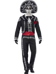 Skeleton Costumes For Halloween by Mens Halloween Day Of The Dead Senor Mexican Skeleton Fancy