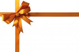 ribbon bow golden gift ribbon bow photo free