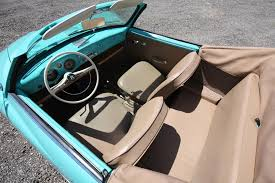 Karmann Ghia Interior 1964 Volkswagen Karmann Ghia Convertible On Ebay 95 Octane