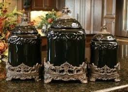 black kitchen canisters unique kitchen canisters sets foter