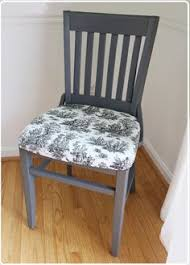 How To Reupholster Dining Room Chairs by Diy Reupholstered Dining Chairs Chair Makeover Room And Paint