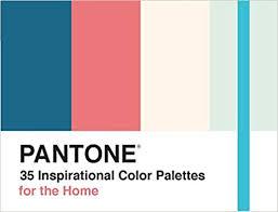 palette pantone pantone 35 inspirational color palettes for the home pantone deck